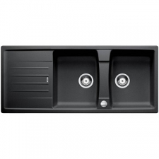 Blanco Lexa 8 S Sink Drop-In Double Bowl 500x1160mm Anthracite