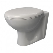Lecico - Atlas Back-To-Wall Pan White