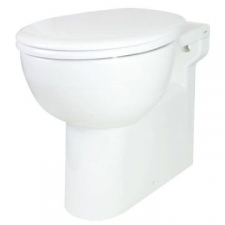Lecico - Laguna Paraplegic Back-To-Wall Pan only White