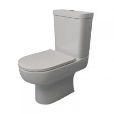 Lecico - Madison Close-Coupled Toilet Box Set Incl Mechanism Angle Valve & SC Seat White