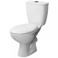Lecico - Neon Close Coupled Dual Flush Toilet White