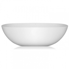 Livingstone Baths - Charlotte Bath Freestanding Oval 1605x745x510mm White
