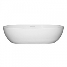 Livingstone Baths - Amy Countertop Integrated Overflow Basin 560x360x145mm White
