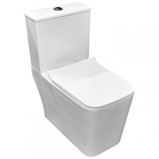Didi - Jacob II OK-4034 Close-Coupled Suite Include Pan S/C Seat Cistern & Mechanism White