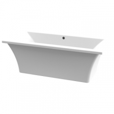 ASP - Bergamo freestanding rectangular skirted bath 1700mm white