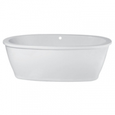 ASP - Berlin BMF23 oval skirted bath 1800mm x 950mm c/w plumbing kit white