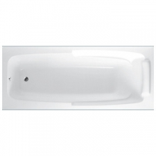 ASP - New York rectangular bath with handles 1800mm x 750mm white