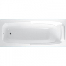 ASP - New York rectangular bath without handles 1800mm x 750mm white