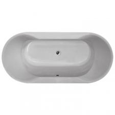 ASP - Dundee Built-in bath White