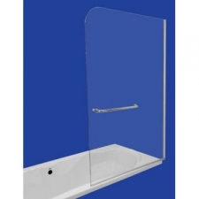 Finestra - Bath Screen Fixed 900x1400x8mm Sil/Clear