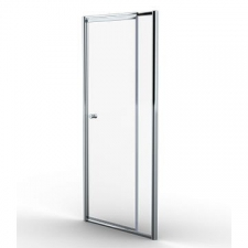 Finestra - Telescopic pivot door 880-980x1860mm Silver