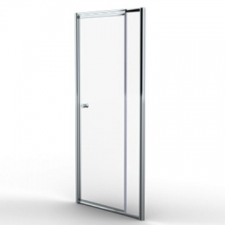 Finestra - Telescopic pivot door 980-1080x1860mmmm Silver