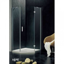 Home - Pentagon shower door 1000x1850mm Silver/Clear