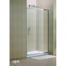 Home - BI-Sliding shower 1170x1200x1900mm Silver/Clear