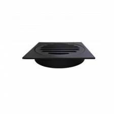 Meir - Shower Trap Grate Matt Black