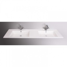 Rossco - Double Barra Basin Only 1800x480x20mm White