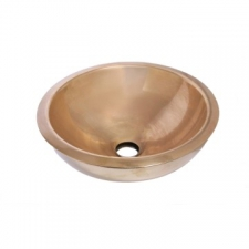 Rossco - Rossco Small Double Skin Countertop Basin 330 x 135mm Brass
