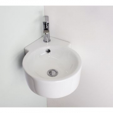 Rossco - Corner Wall-Hung Basin 360x360x125mm White