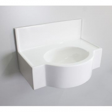 Rossco - Medical Wall Hung Basin 650x450x400mm White