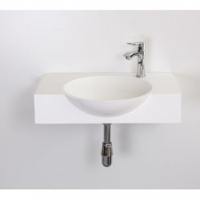 Rossco - Proto 600 Wall-Hung Basin 600x450x140mm White