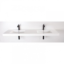Rossco - Swift Double Wall Hung Basin 1790x490x75mm White