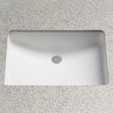 Rossco - Swift Underslung Basin Small 490x310mm Cut Out White